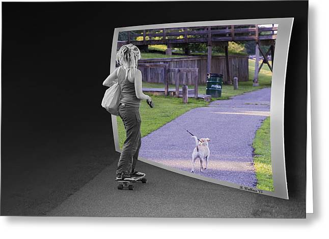 Enhanced Greeting Cards - Back Where I Belong Greeting Card by Brian Wallace