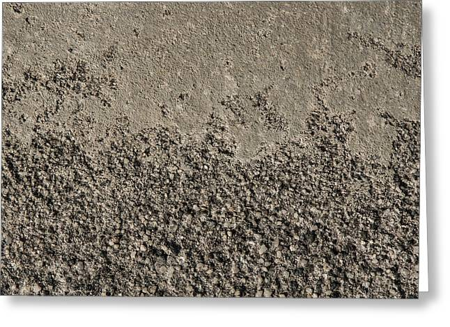 Industrial Background Greeting Cards - Background - Concrete 002 Greeting Card by Brent Snow