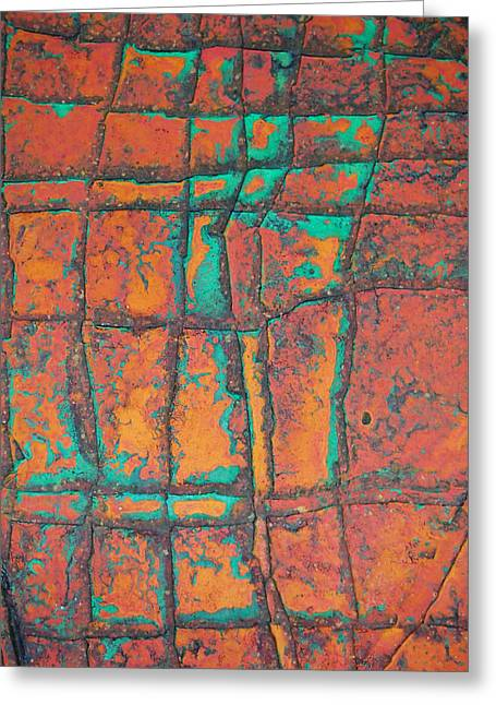Grunge Reliefs Greeting Cards - Background Old Art Stone  Greeting Card by Jumnian Barisee