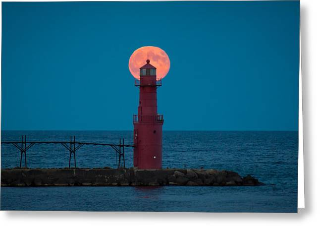 Moonrise Greeting Cards - Backlighting II Greeting Card by Bill Pevlor