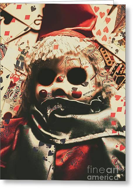 Bad Magic Greeting Card by Jorgo Photography - Wall Art Gallery