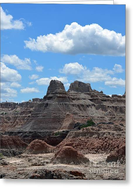 Badlands Sd #157 Greeting Card by Chalet Roome-Rigdon