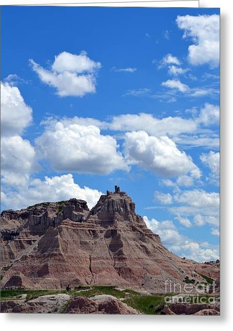 Badlands Sd #214 Greeting Card by Chalet Roome-Rigdon