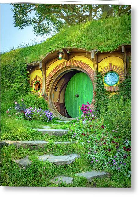 Bag End Greeting Card by Racheal Christian