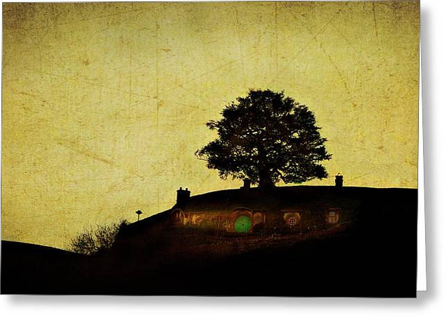 Bagend Greeting Cards - Bagend at Dusk Greeting Card by Linde Townsend