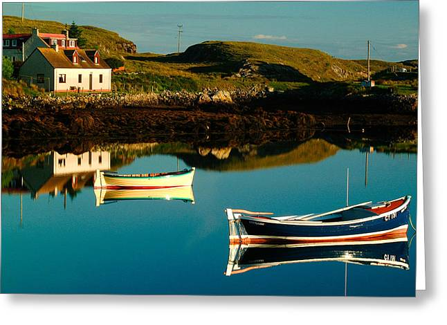 Western Isles Greeting Cards - Bagh Mor Isle of Grimsay Greeting Card by John McKinlay