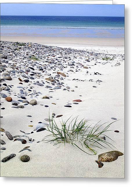 Western Isles Greeting Cards - Bagh Siar Isle of Vatersay Greeting Card by John McKinlay