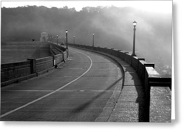 Concept Photographs Greeting Cards - Bagnell Dam Greeting Card by Fiona Kennard