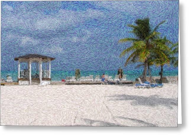 Lanscape Greeting Cards - Bahamas Greeting Card by Julie Niemela