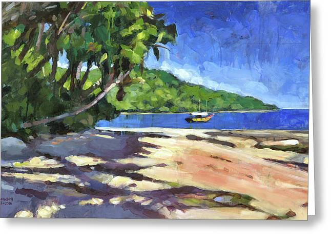 Bahia Greeting Card by Douglas Simonson