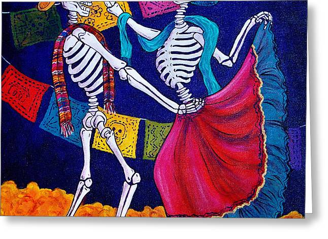 Bailando Greeting Card by Candy Mayer
