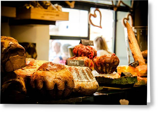 Grocery Store Greeting Cards - Baker Greeting Card by Jason Smith