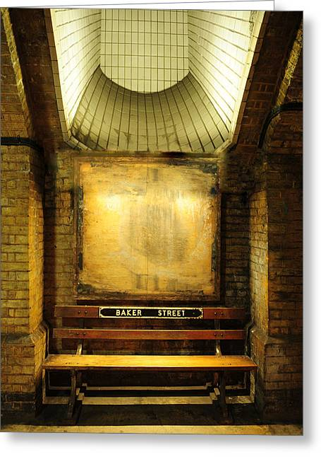 Sherlock Holmes House Greeting Cards - Baker Street Station Greeting Card by Dan Albright