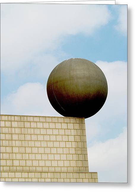 Primitive Sculpture Greeting Cards - Balance Greeting Card by Jim DeLillo
