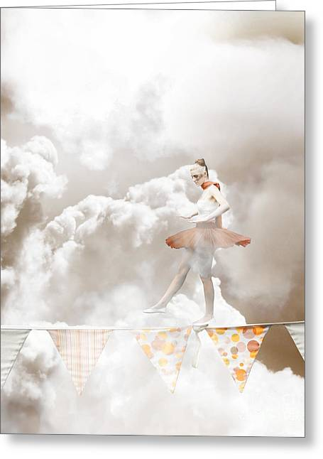 Balance Greeting Card by Jorgo Photography - Wall Art Gallery