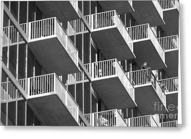 Balcony Colony Greeting Card by WaLdEmAr BoRrErO