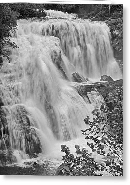 Tennessee River Greeting Cards - Bald River Falls Greeting Card by Richard Powers