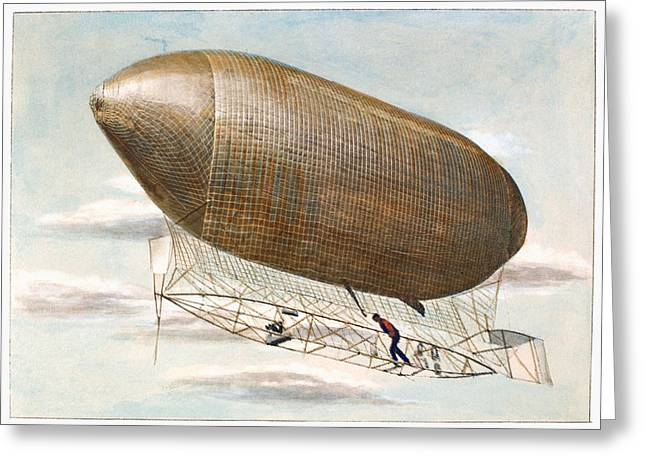 Purchase Greeting Cards - Baldwins Airship, 1904 Greeting Card by Granger