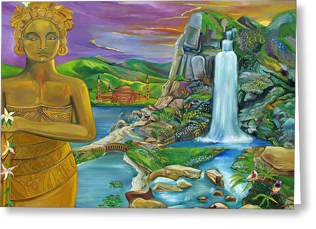 Johnkeaton Greeting Cards - Bali Dream Greeting Card by John Keaton