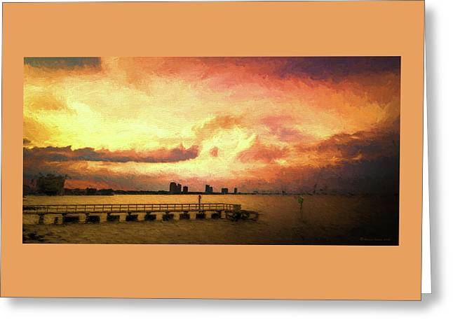 Ballast Point Glow Greeting Card by Marvin Spates