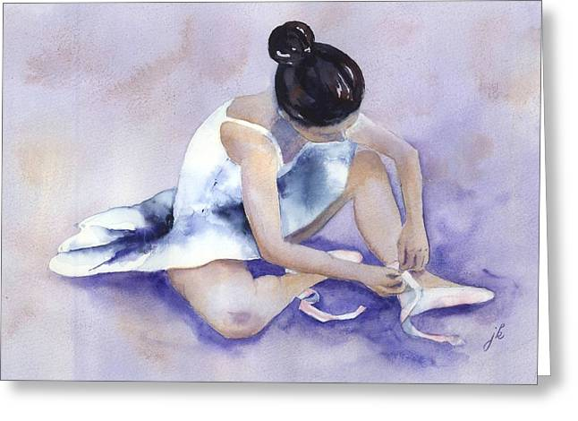 Dancer Pictures Greeting Cards - Ballerina Greeting Card by Jitka Krause