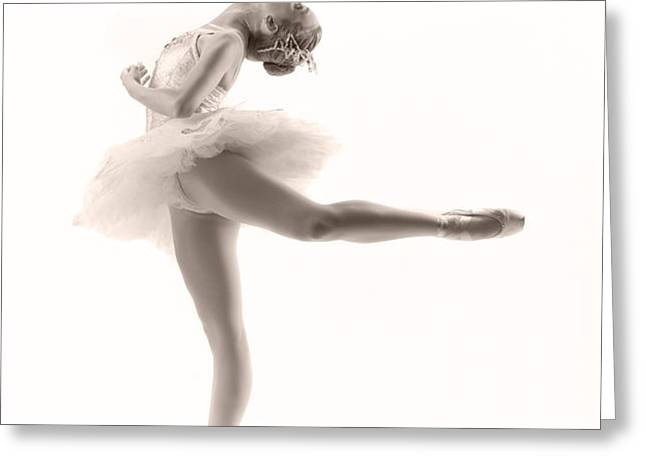 Ballerina Greeting Card by Steve Williams
