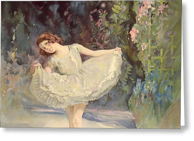 Ballet Greeting Card by Septimus Edwin Scott
