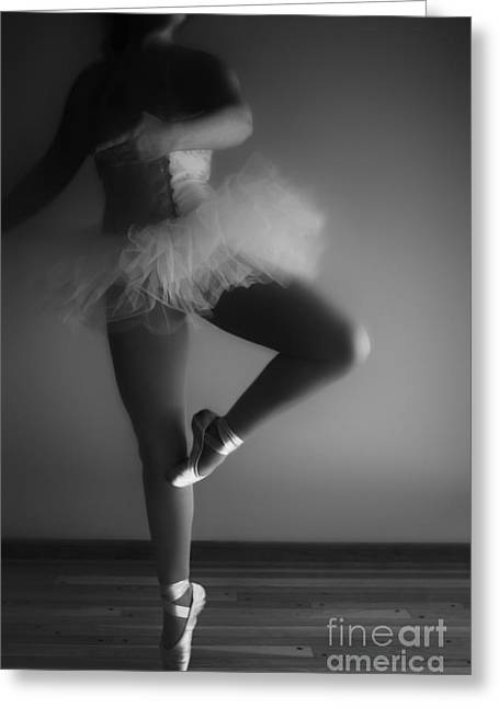 Plies Greeting Cards - Ballet Slippers Greeting Card by Margie Hurwich