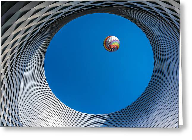 Switzerland Photographs Greeting Cards - Ballon [ O ] Greeting Card by Markus Lissner