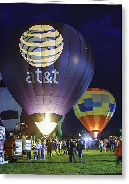 Helium Greeting Cards - Balloon Fest Greeting Card by Phyllis Taylor