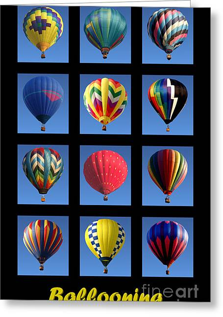 Ballooning Greeting Card by Olivier Le Queinec