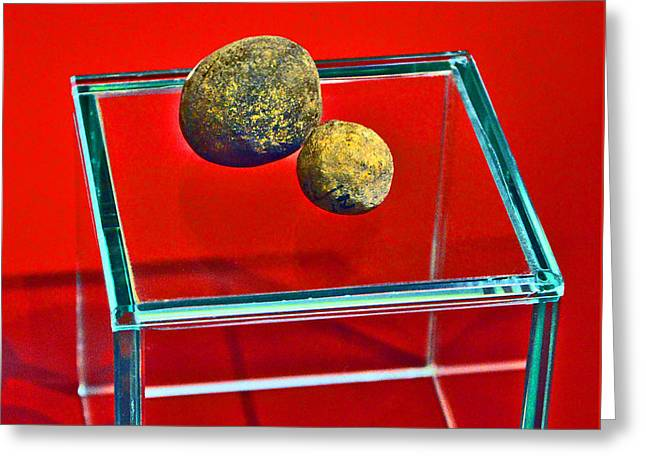 Mikhailovich Greeting Cards - Balls. Ancient time. Greeting Card by Andy Za