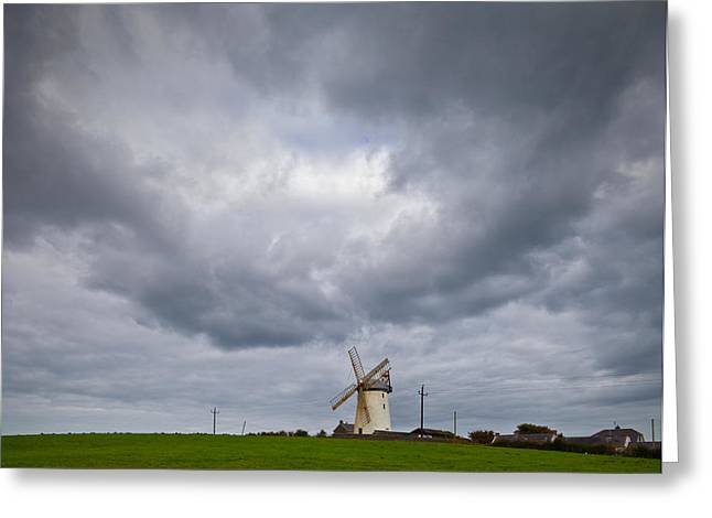 Ballycopeland Windmill, Built Circa Greeting Card by Panoramic Images