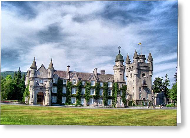 Balmoral Greeting Cards - Balmoral Castle - The Summer Home of the Queen Greeting Card by Sarah E Ethridge