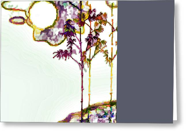 Eps10 Greeting Cards - Bamboo Greeting Card by Lanjee Chee