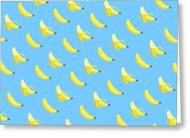 Yellow Bananas Greeting Cards - Banana Greeting Card by Rr Co