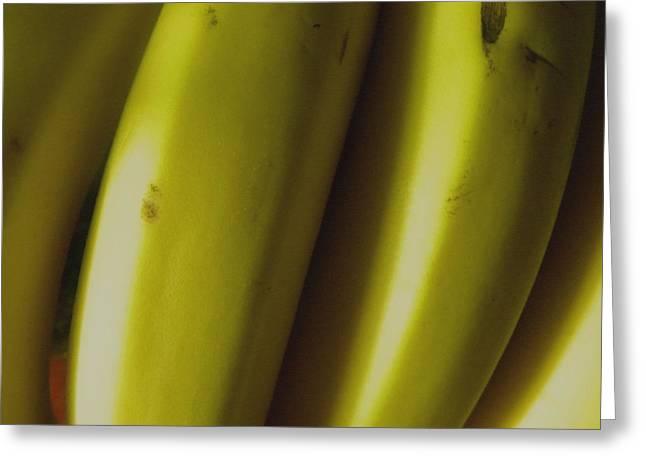 Bananas Greeting Card by Fanny Diaz