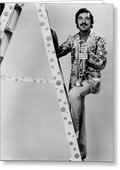 Band Leader Doc Severinson 1974 Greeting Card by Mountain Dreams