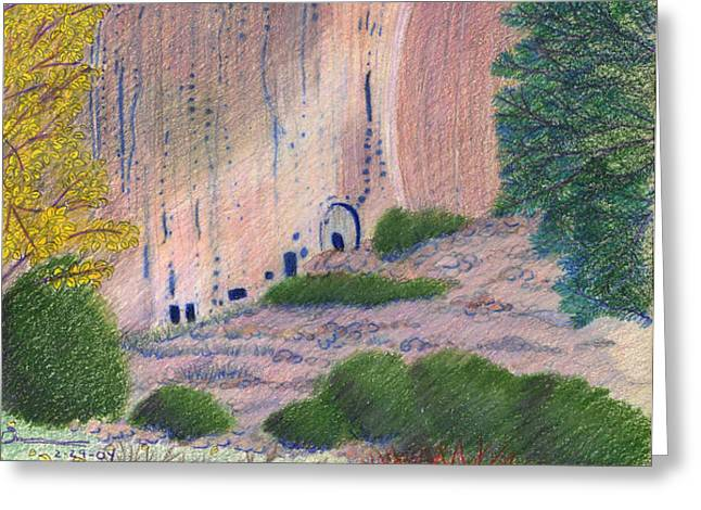 Bandelier 2004 Greeting Card by Harriet Emerson