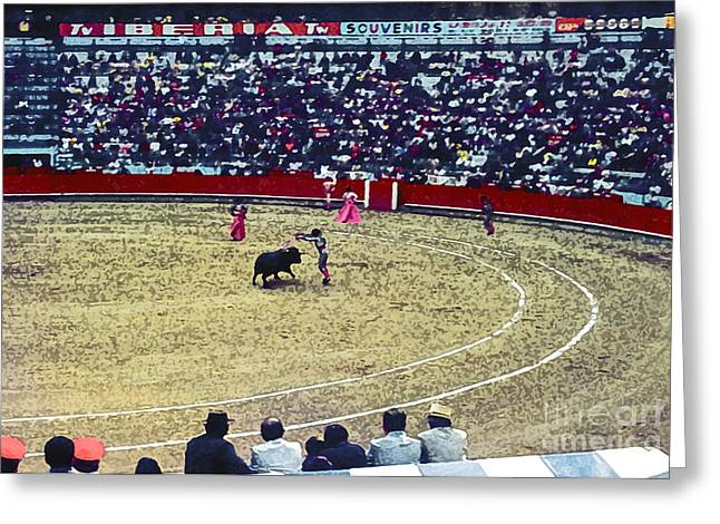 Person Greeting Cards - Banderillero 4 Greeting Card by Bob Phillips