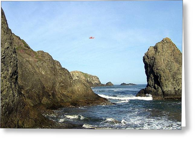 Bandon 28 Greeting Card by Will Borden