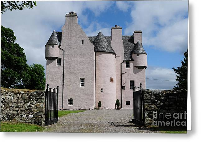 Barcaldine Castle Greeting Card by Stephen Smith