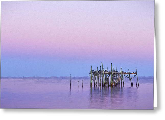 Barely Standing II Greeting Card by Jon Glaser