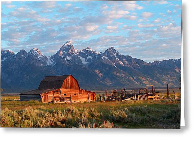 Barn Digital Art Greeting Cards - Barn 2 Greeting Card by Vijay Sharon Govender