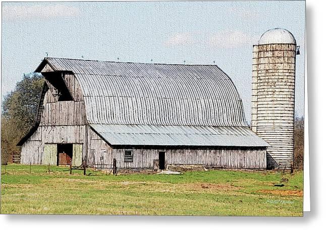 Barn 3204 Greeting Card by Ericamaxine Price
