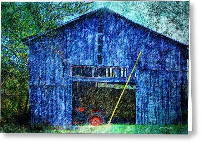 Barn-94 Greeting Card by EricaMaxine Price