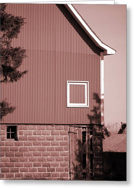 Jame Hayes Greeting Cards - Barn Detail Greeting Card by Jame Hayes