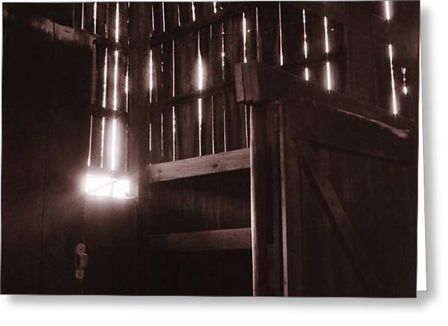 Barn Greeting Card by Katherine Howard