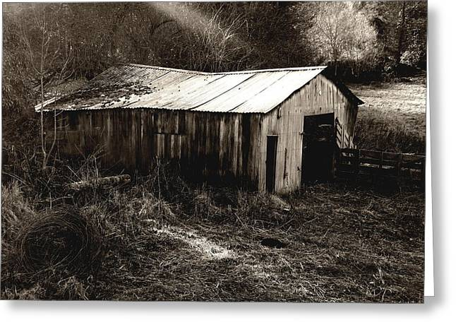 Roberto Alamino Greeting Cards - Barn Greeting Card by Roberto Alamino