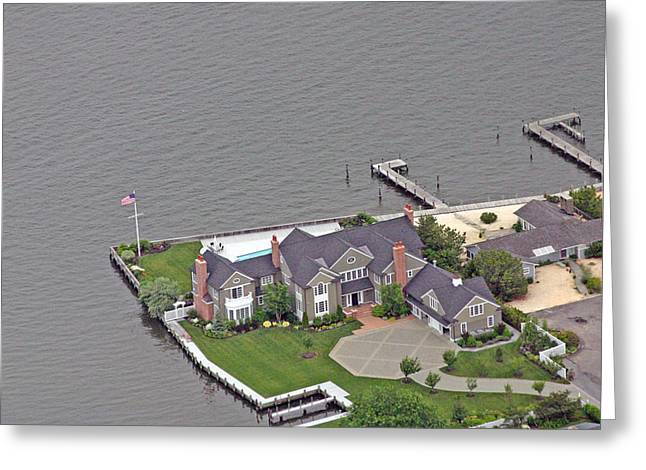 Bay Head Beach Greeting Cards - Barnegat Bay House Bay Head New Jersey Greeting Card by Duncan Pearson